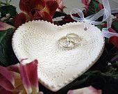 Custom Wedding Ring Bearer Dish Ring Bearer Bowl Wedding Commitment Ceremony