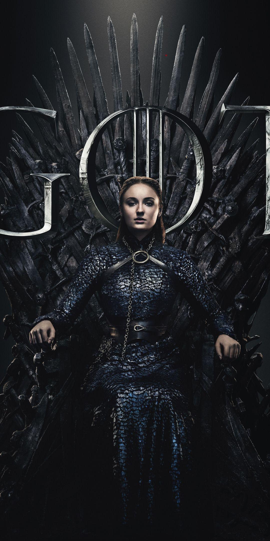 Sansa Stark Sophie Turner Game Of Thrones 2019 Season 8