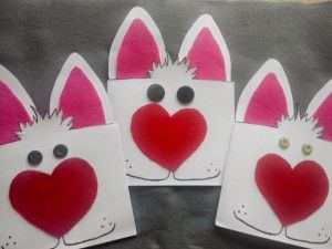 Easter Bunny Card Craft Idea For Kids Easter Cards Card Craft Easter Crafts