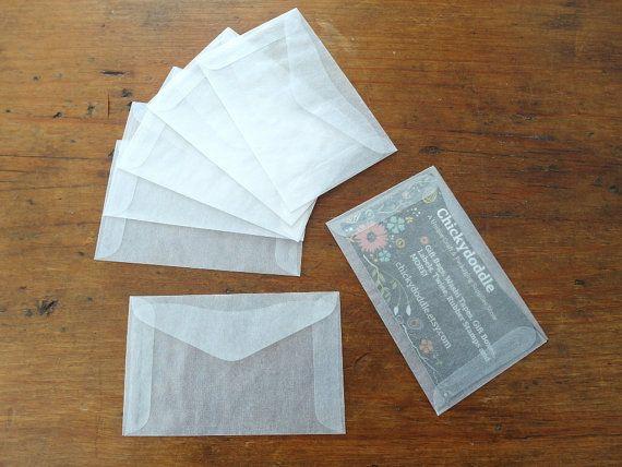 Mini Glassine Envelopes Business Card Envelope Gift Card Etsy Card Envelopes Glassine Envelopes Gift Card Holder