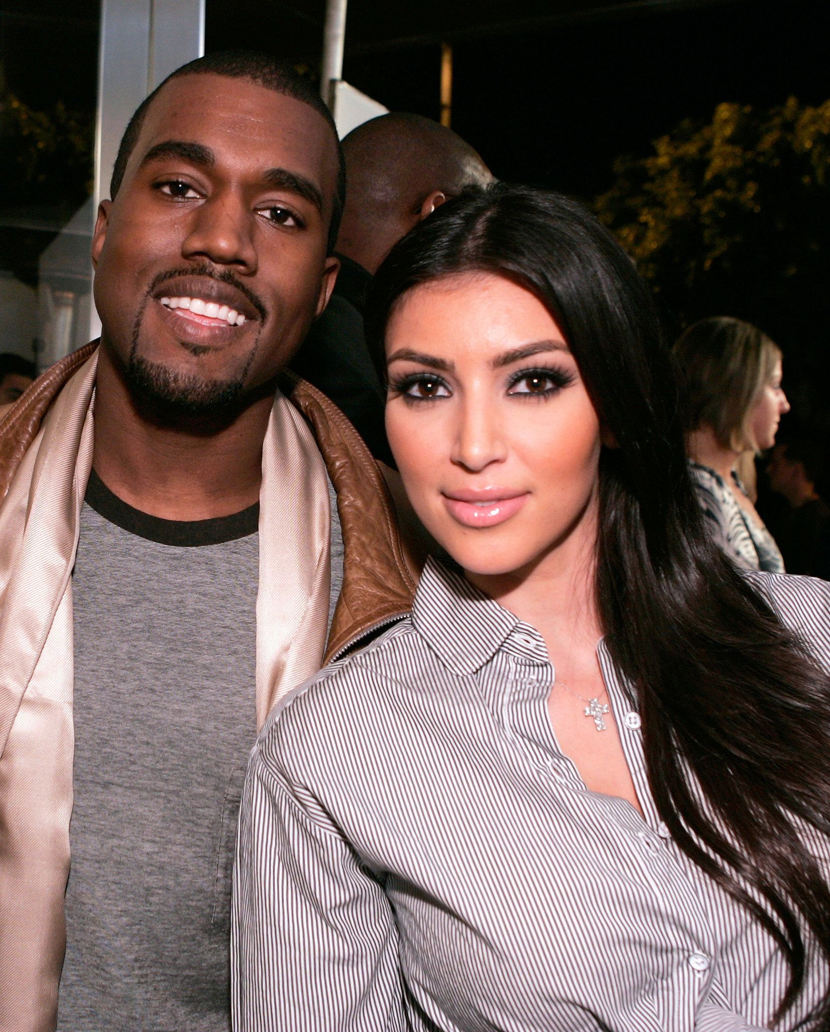 Talk about foreshadowing: Kim Kardashian met up with her then-buddy Kanye West at the opening of Intermix's LA store in September 2007.