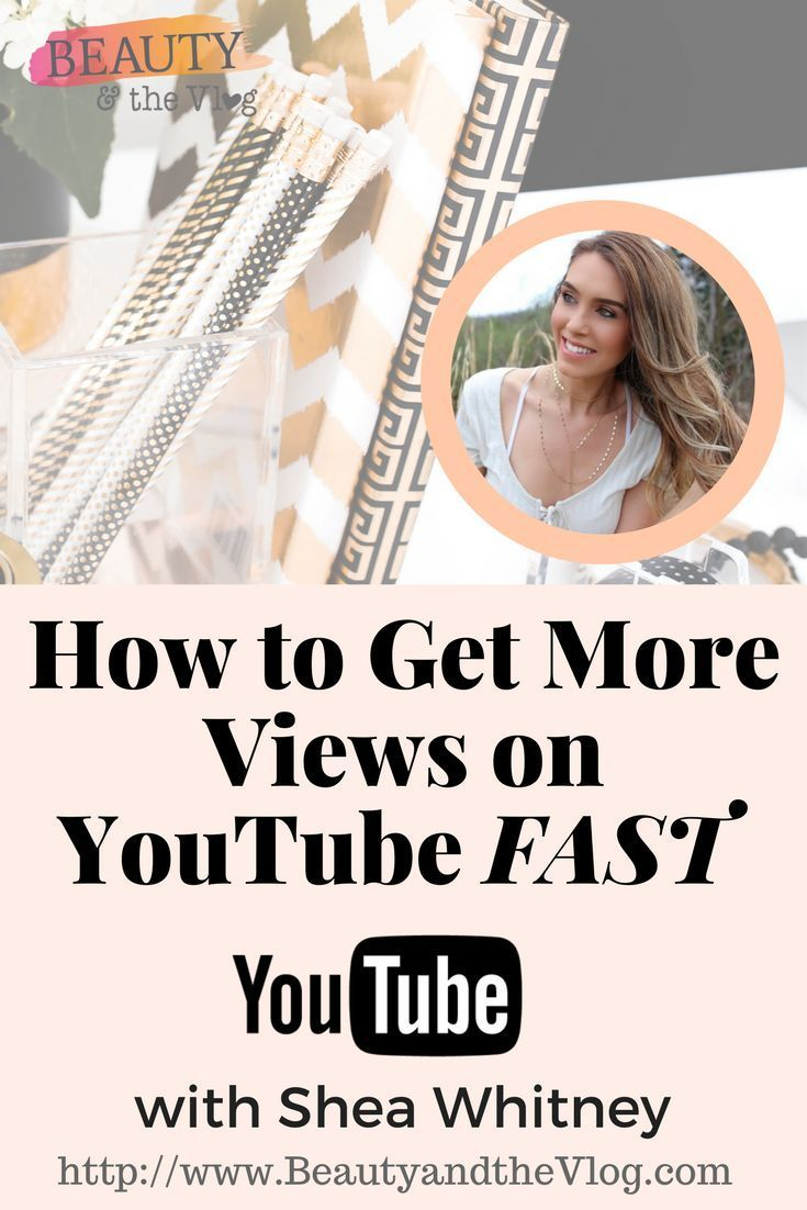 How To Get More Views On Youtube When Just Starting Out Video Marketing Youtube Youtube Marketing Youtube Marketing Strategy