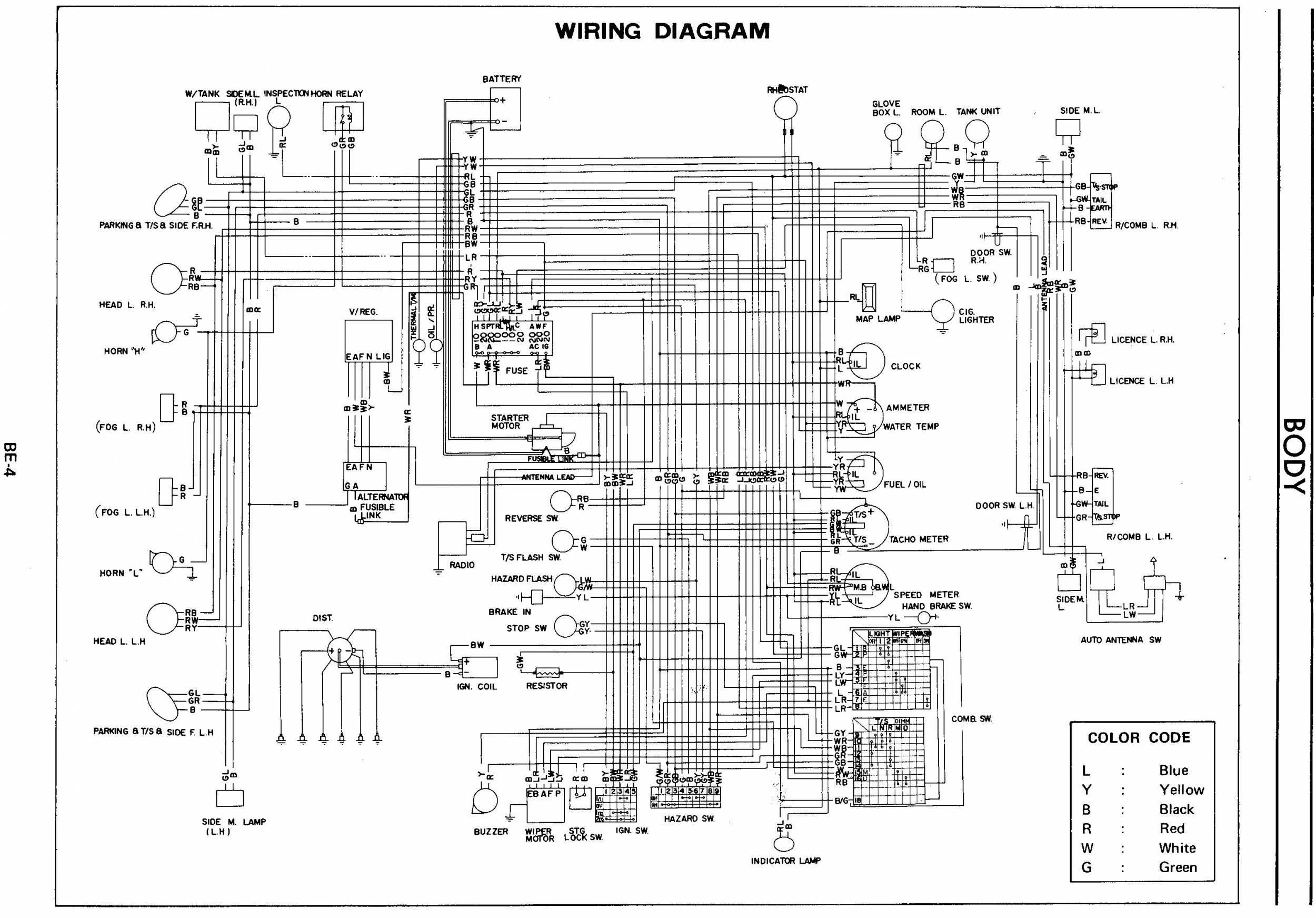 Alfa Romeo Gtv Wiring Diagram