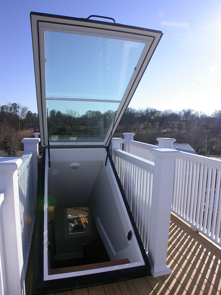 Rooftop Hatch Patio Roof Pergola With Roof Glass Roof