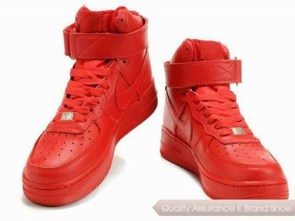 Nike Air Force De Chaussure Rouge