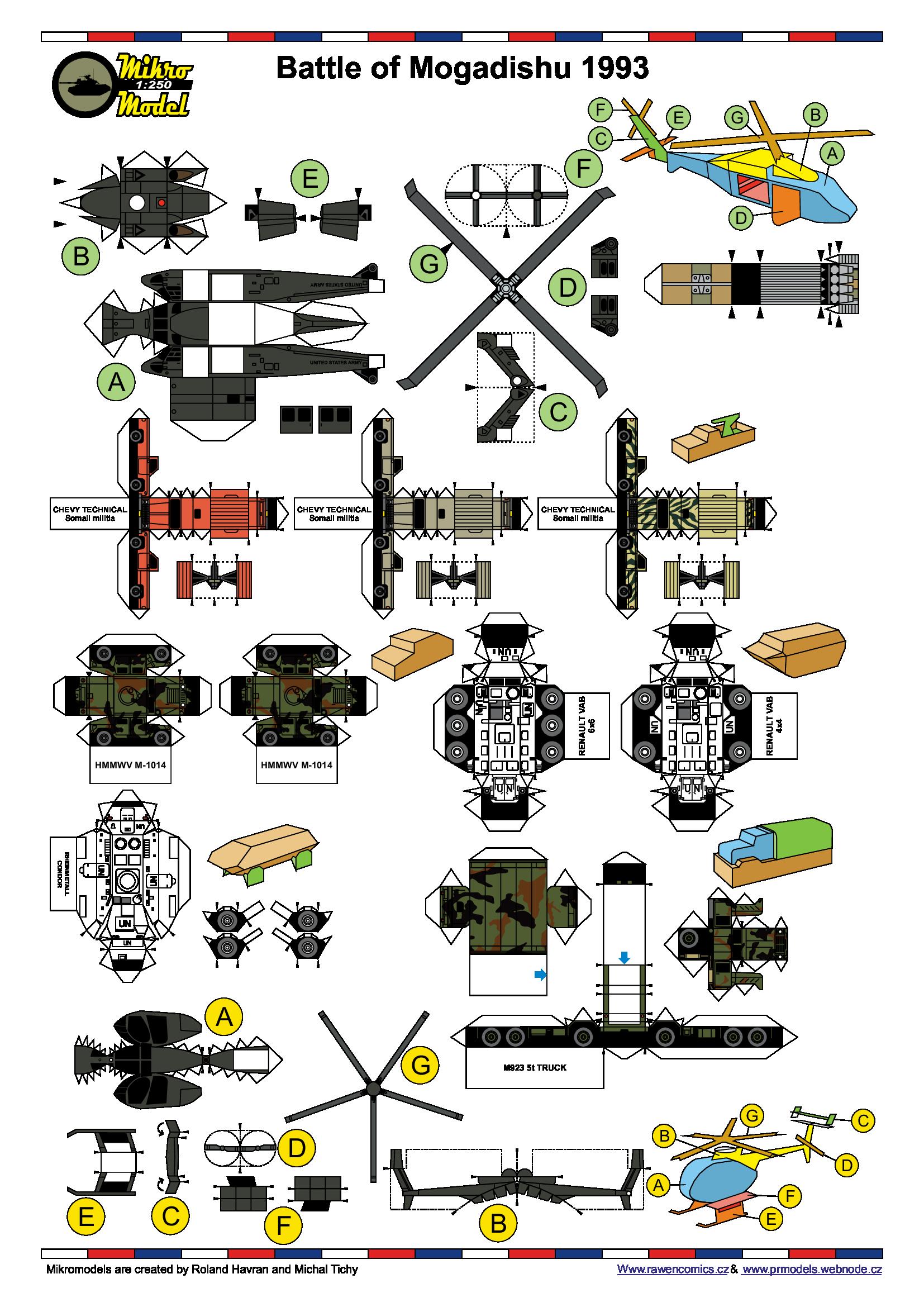 Battle of Mogadishu 2013 HOTO   pdf | Paper Craft
