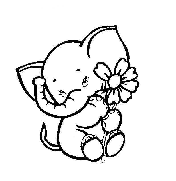 Baby elephant | MUÑECOS | Pinterest | Elefantes, Dibujo y Diseños ...
