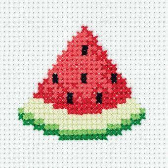 Photo of Klart Watermelon Wedge Cross Stitch Kit