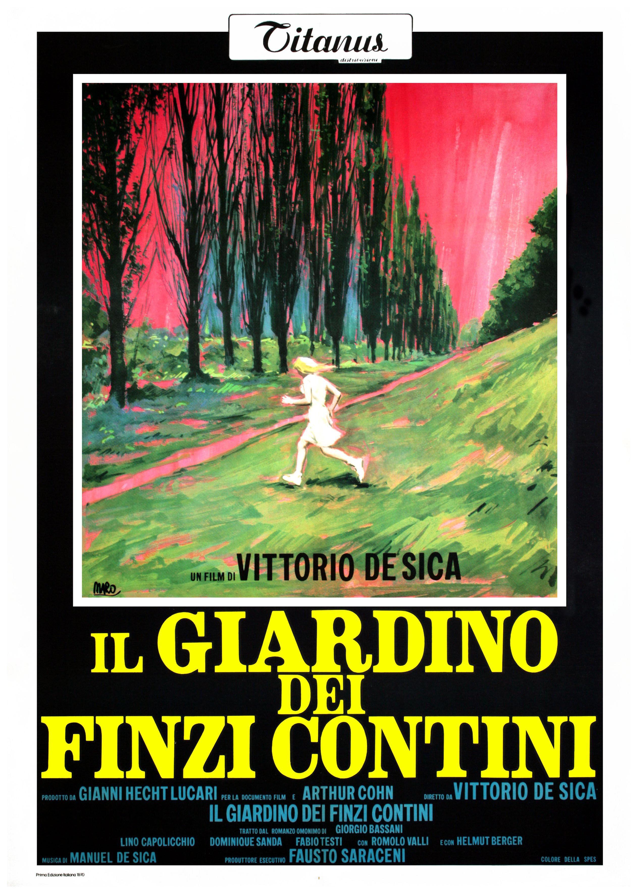 Le jardin des Finzi Contini / Il giardino dei Finzi Contini de Vittorio DE SICA (1970)