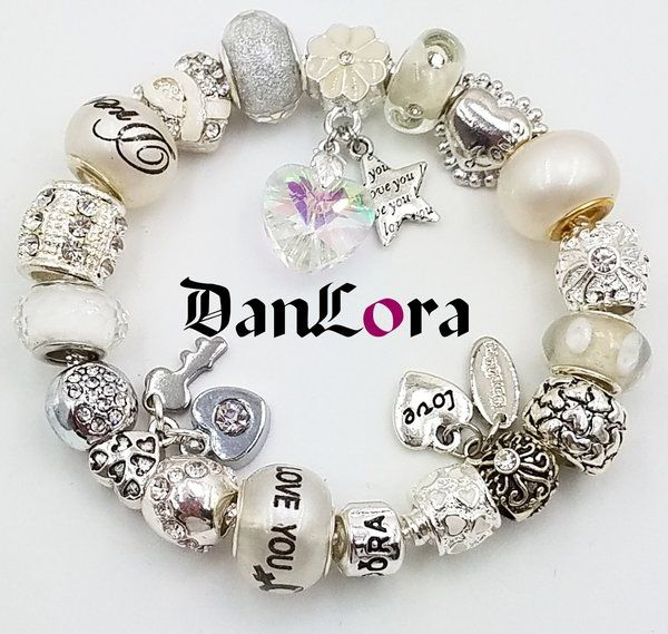 """Sweet """"Dream Come True"""" bracelet just in time for Valentine's Day! Get 20% off all Vday bracelets until Monday, February 13th!"""