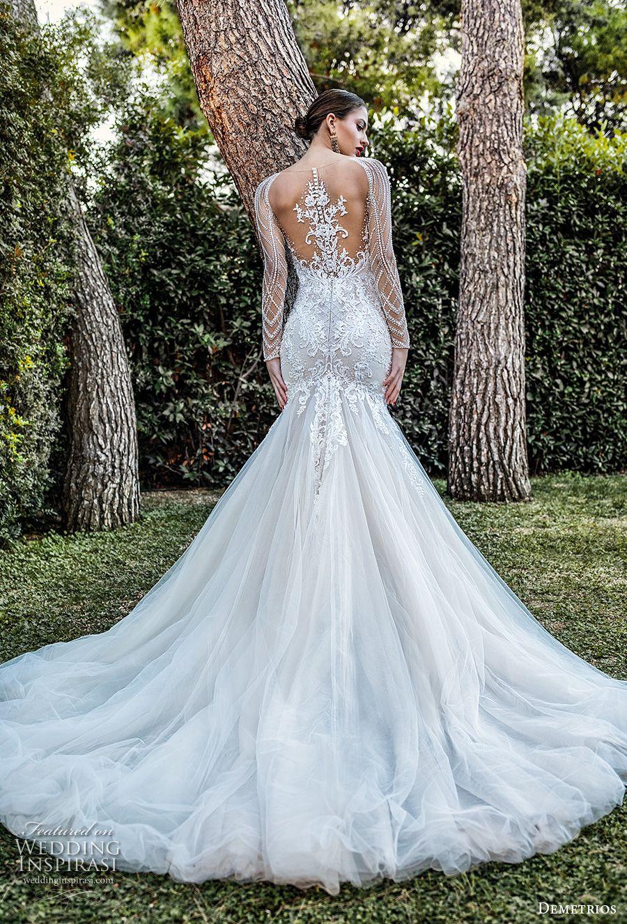 Demetrios Capsule 2020 Wedding Dresses Sophistique Bridal Collection Wedding Inspirasi Wedding Dresses Wedding Dress Long Sleeve Dream Wedding Dresses [ 1326 x 900 Pixel ]