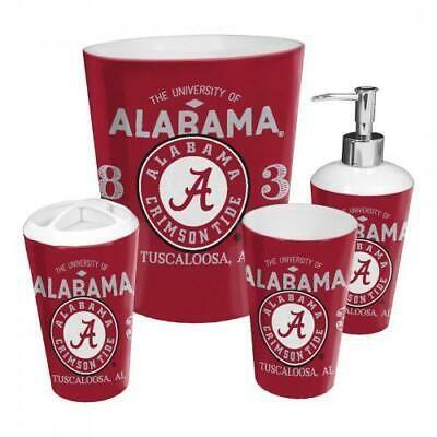 (Ad) Alabama OFFICIAL Collegiate 4-Piece Bath Set ...
