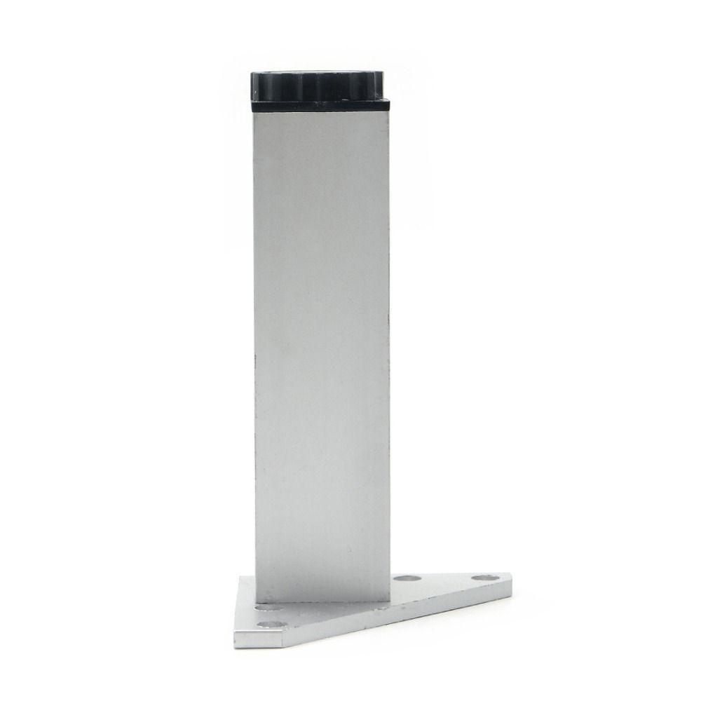 4 stücke 15 cm Möbel Beine Kabinett Füße Aluminium Metall Tisch ...