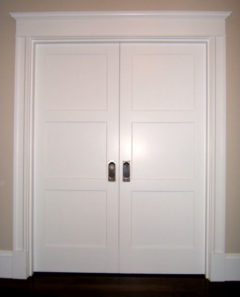 Tar Paper Crane A Remodeling Blog Trim Out Interior Door Casing With Style Doors Interior Craftsman Interior Doors Interior Door Styles