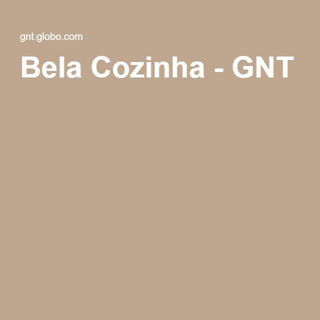 Bela Cozinha - GNT