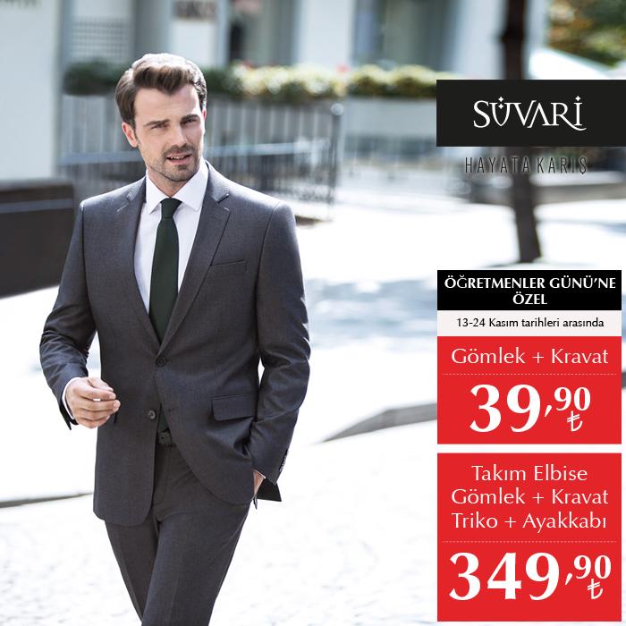 84d9f77203b54 Gömlek + Kravat 39,90 TL, Takım Elbise + Gömlek + Kravat + Triko + Ayakkabı  349,90 TL'ye #MarmaraPark Süvari'de.