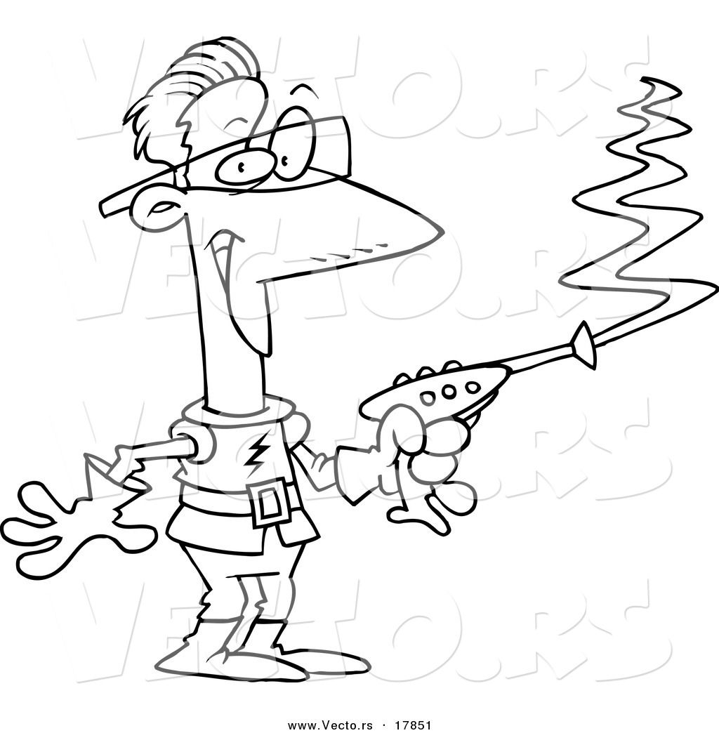 laser tag coloring pages - photo#4