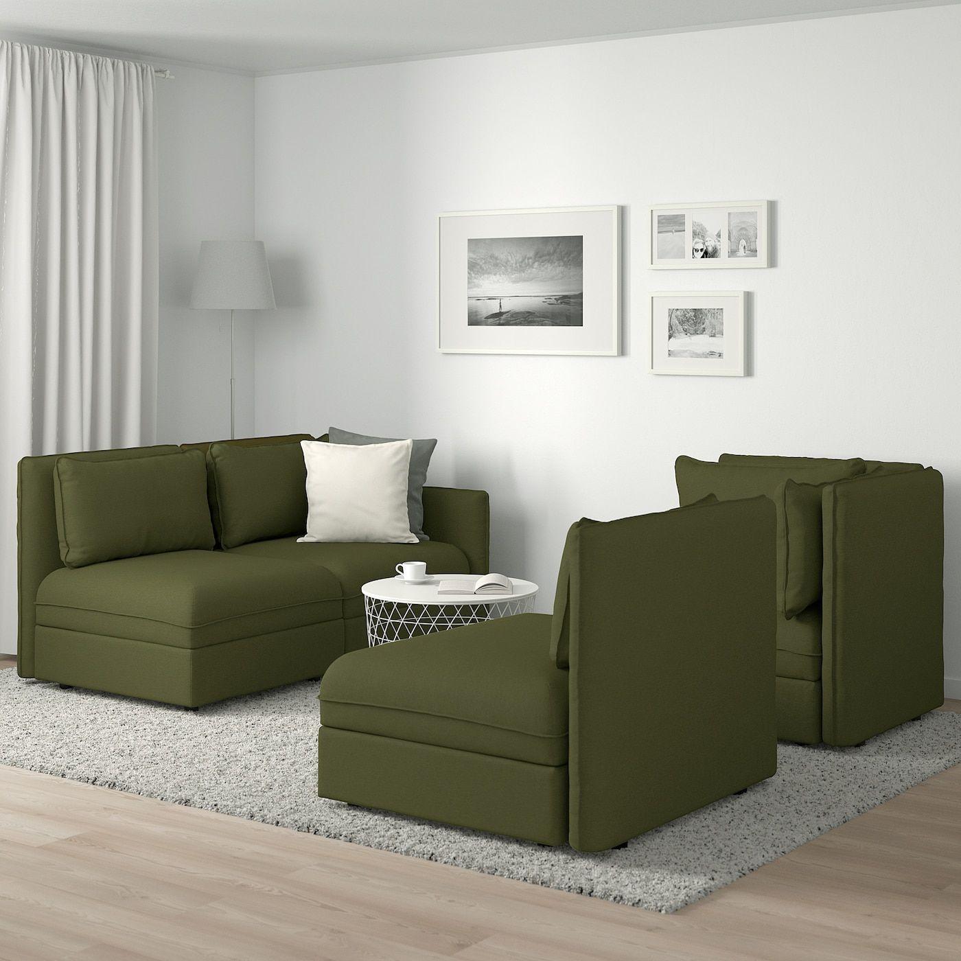 Pop Camper Discover VALLENTUNA Modular corner sofa 3seat