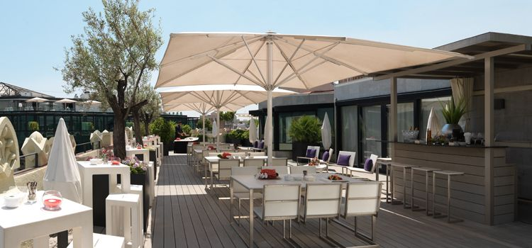 terraza monument hotel condes de barcelona