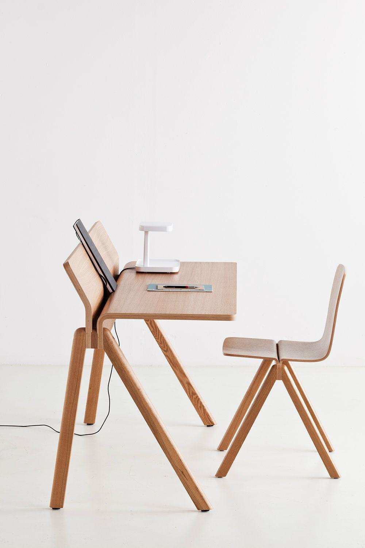 HAY   Copenhague Desk & Chair, designed by the Bouroullecs.