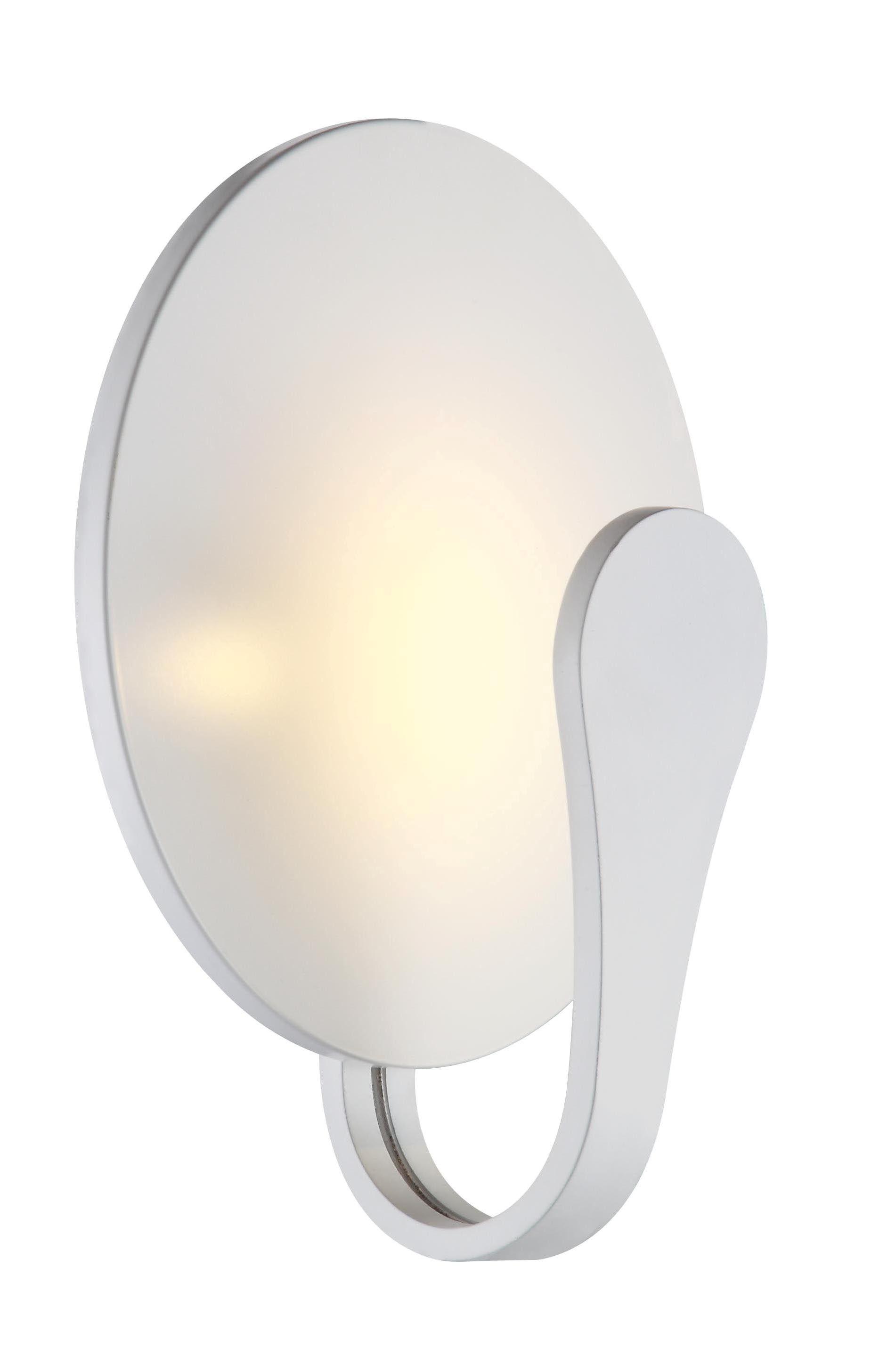 aplique led moderno en blanco para pared comprar lmparas de pared modernas modernas de diseo