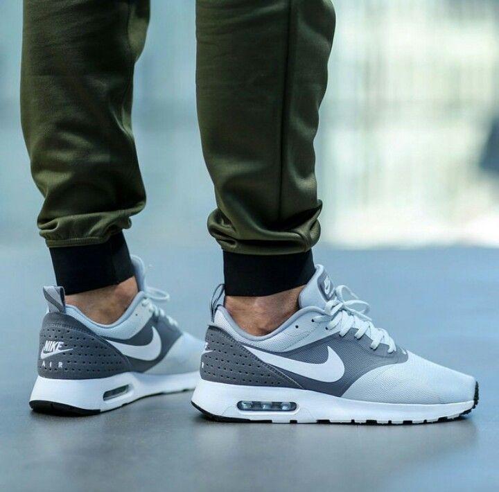 Nike Air Max Tavas Essential Pure Platinum Sneakers Men Fashion Running Shoes Nike Nike Free Shoes