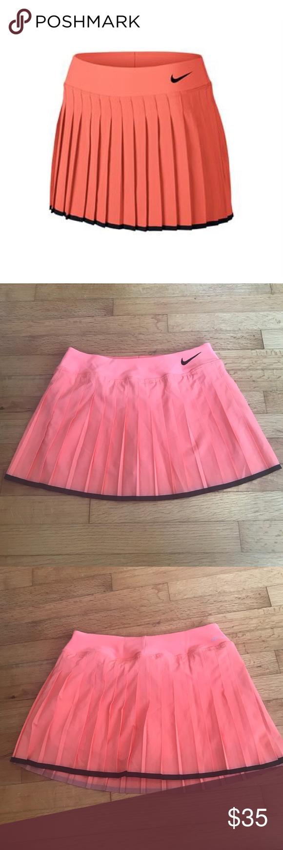 Nwt Nike Victory Tennis Skort Size M 728773 680 Tennis Skort Skort Clothes Design