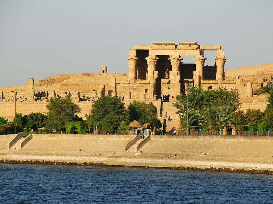 Start from the Delta at Alexandria, and the first stop is Cairo. Do not miss a trip to the Citadel, which was built from the foundation of the city by the Fatimids. Nile passes through the Sahara desert and the next important stop is the ancient city of Luxor and the most interesting attraction Valley of the Kings.