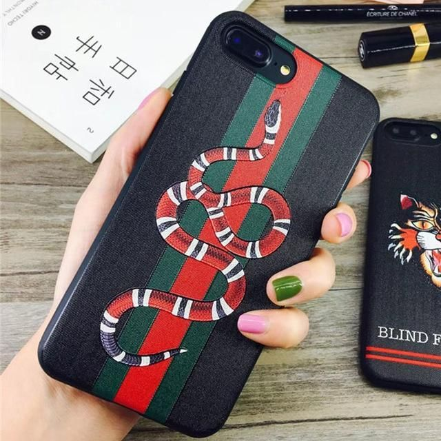 coque iphone 8 black snake