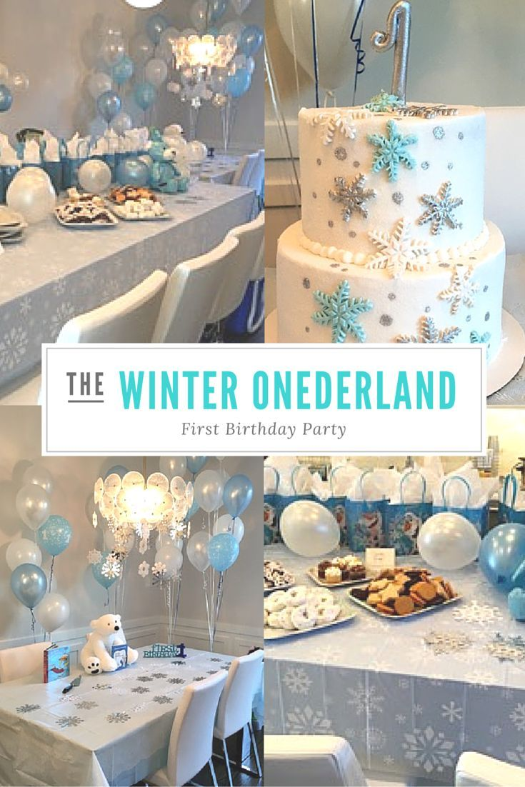 beautiful winter onederland first birthday party wyatt baby