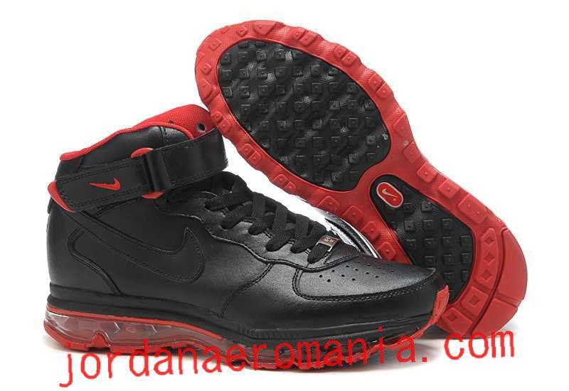 best loved c479b 986a4 Acheter Chaussures Air Max 2009 Nike Air Force 1 Fusion Noir Varsity Red  Rouge  JordanAeroMania.com