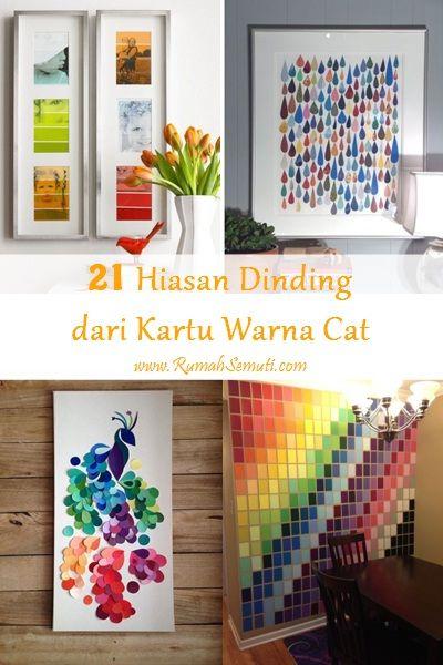 21 hiasan dinding dari kartu warna cat craft and patterns 21 hiasan dinding dari kartu warna cat thecheapjerseys Image collections