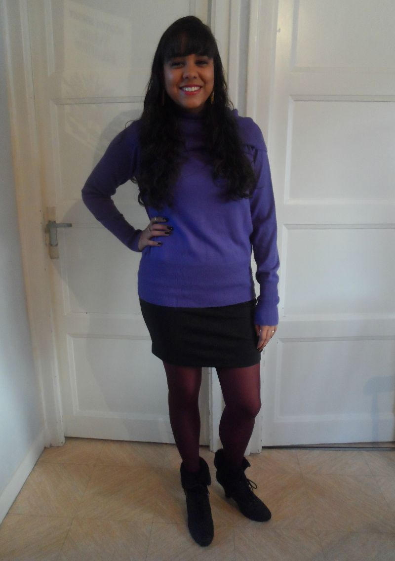Meia calça colorida!
