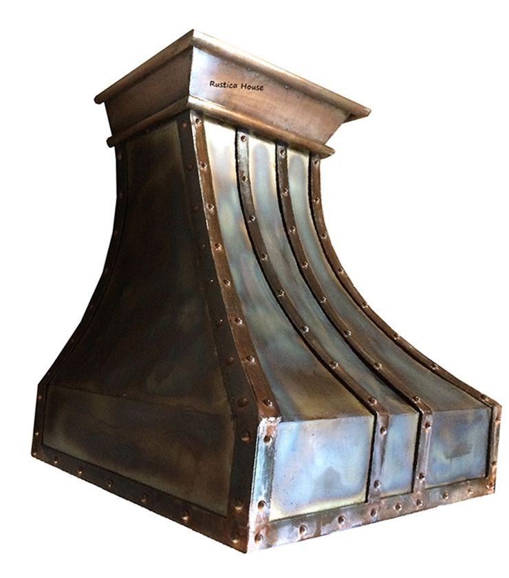 Brand new iron range hood for  an industrial or #loft style #kitchen. #myrustica
