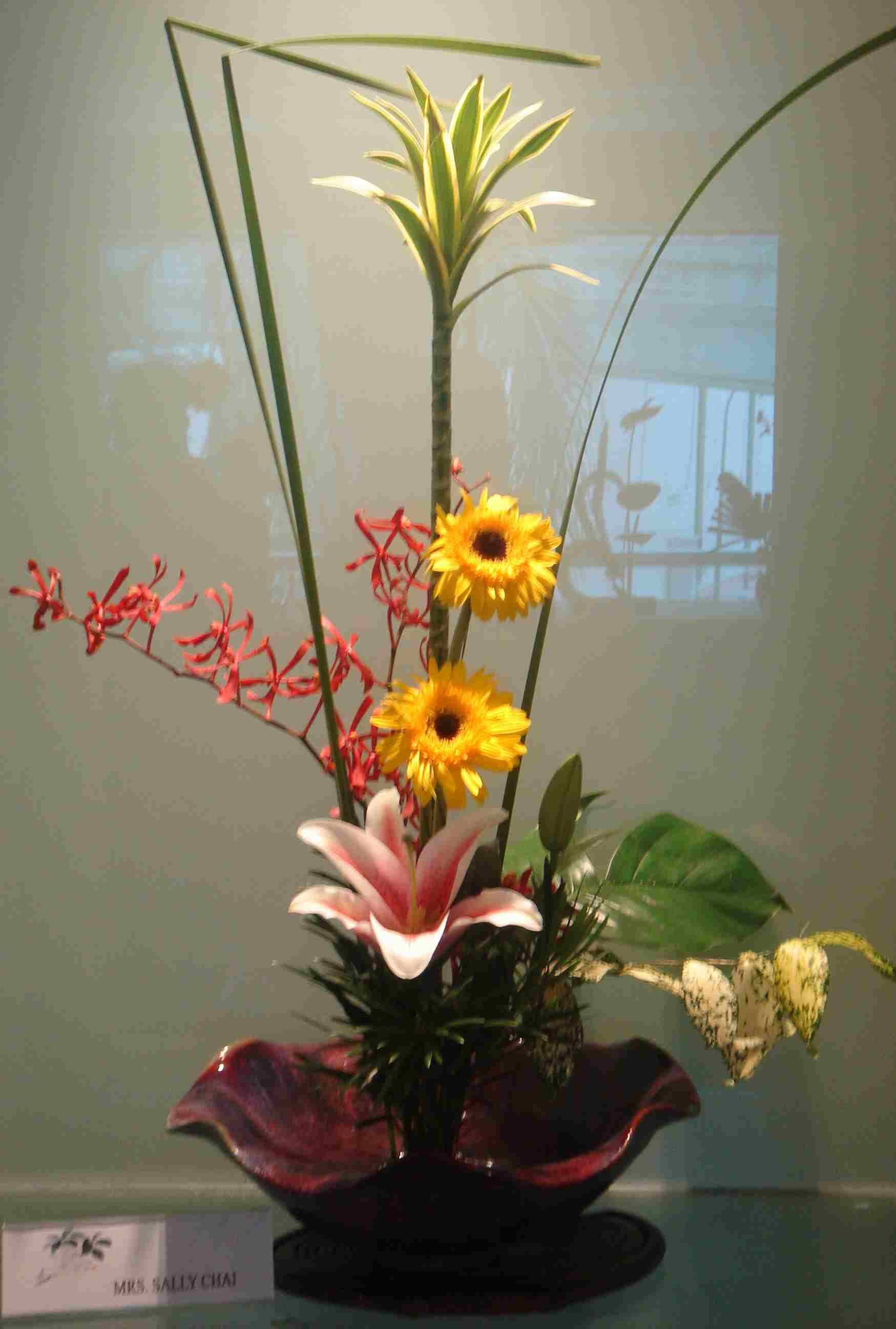 Image Gallery Ikebana Arrangement