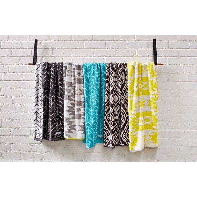 """Bathroom bliss #bathroomstyle #towels"""