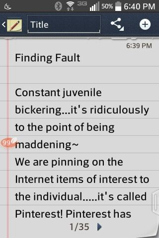 People blocking ~ Hating ~ Judging~ Page 1 of 4