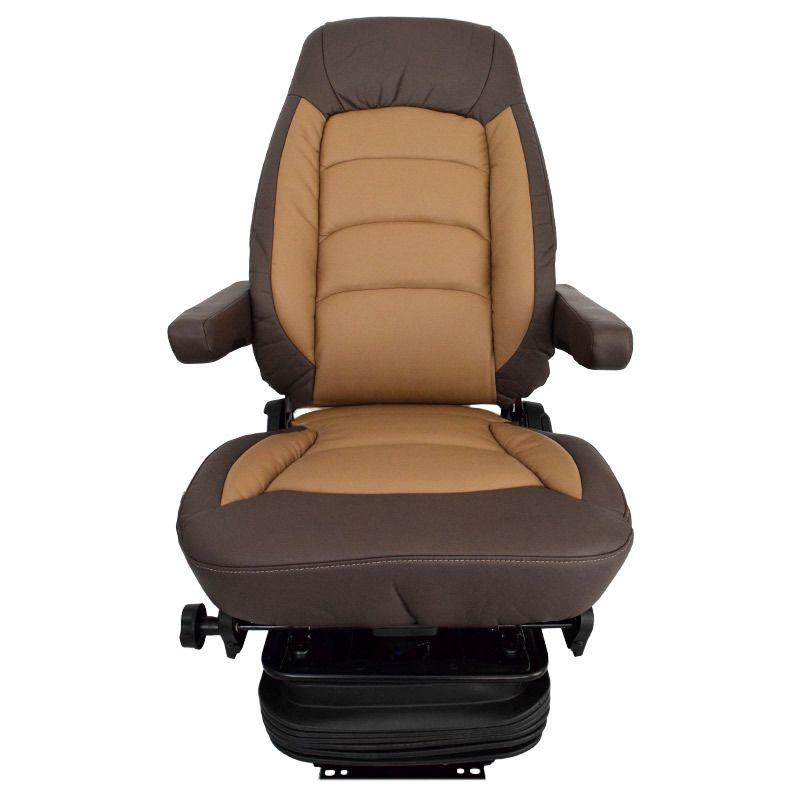 Bostrom Wide Ride II Tan Ultra Leather Serta Memory Foam