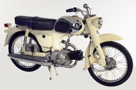 1965 Honda C200 90cc Touring Motorcycle Vintage honda