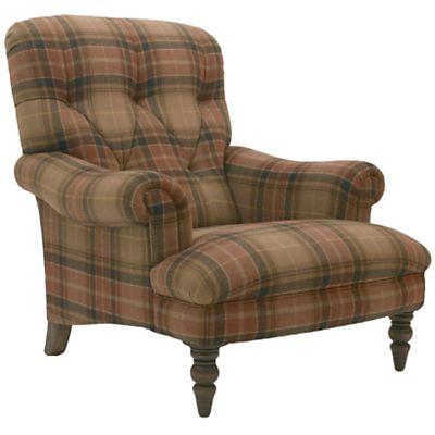Buy John Lewis Gibson Armchair, Tartan online at JohnLewis ...