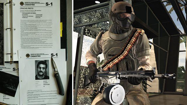 Crachá Preto, nueva banda. Max Payne 3