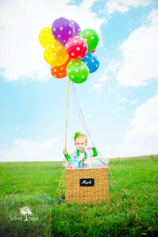 Colorful Hotair Balloon Photo