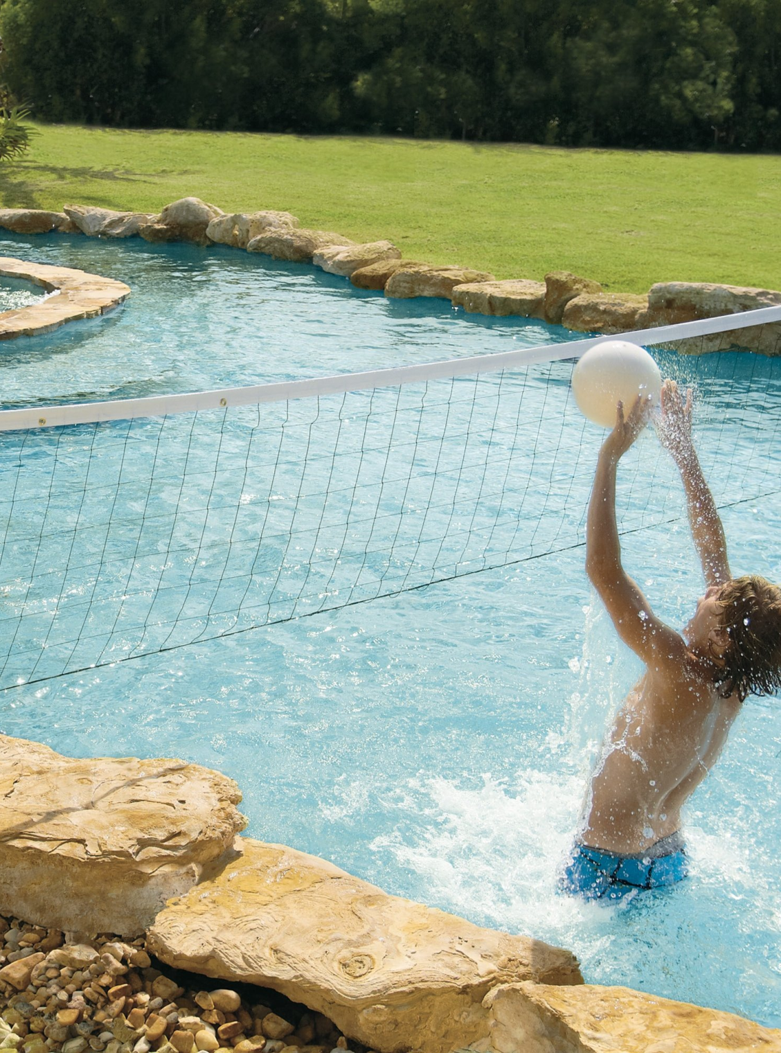 Water Volleyball Pool Game Water Volleyball Pool Pool Games