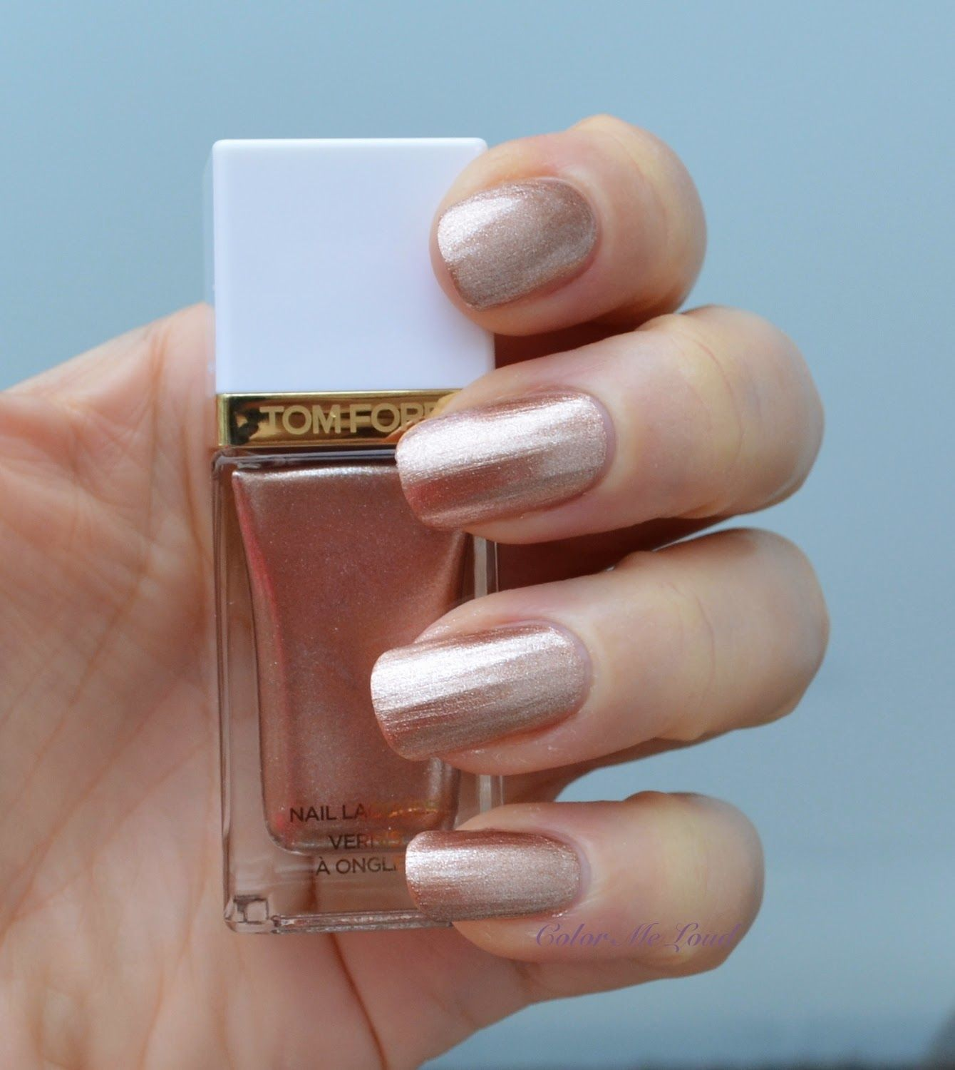 Tom Ford #02 Incandescent - rose gold #nail polish / lacquer ...