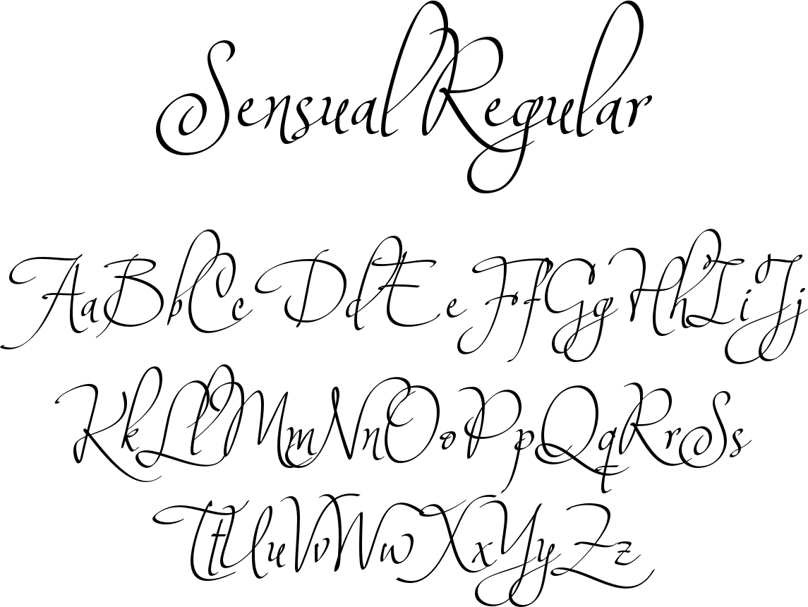 Sensual regular font an graceful deliciously insouciant sensual regular font an graceful deliciously insouciant calligraphic script from corradine fonts ideal m4hsunfo