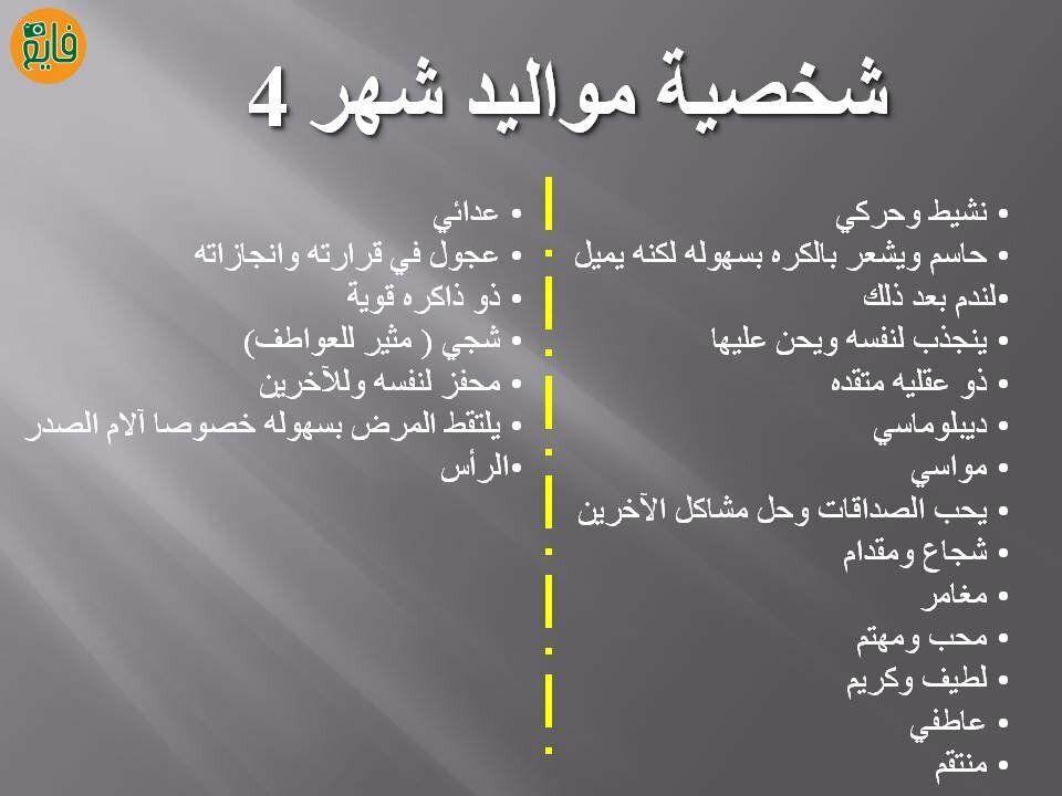 الصفات الشخصية الكاملة لمواليد شهر 4 Itachi Uchiha Art Arabic Funny Zodiac Horoscope