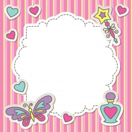 خلفيات للتصميم بالفوتوشوب2014 سكرابز براويز وبنات للتصميم كروت مزخرفة للكتابه Pink Frames Vector Free Kids Perfume