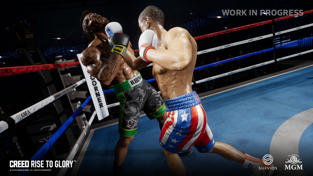 A new trailer for Creed Rise to Glory VR game launched at