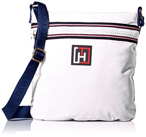 751919e78b0e Women s Cross-Body Handbags - Tommy Hilfiger Nylon Flat Convertible Cross  Body White One Size    Read more reviews of the product by visiting the  link on ...
