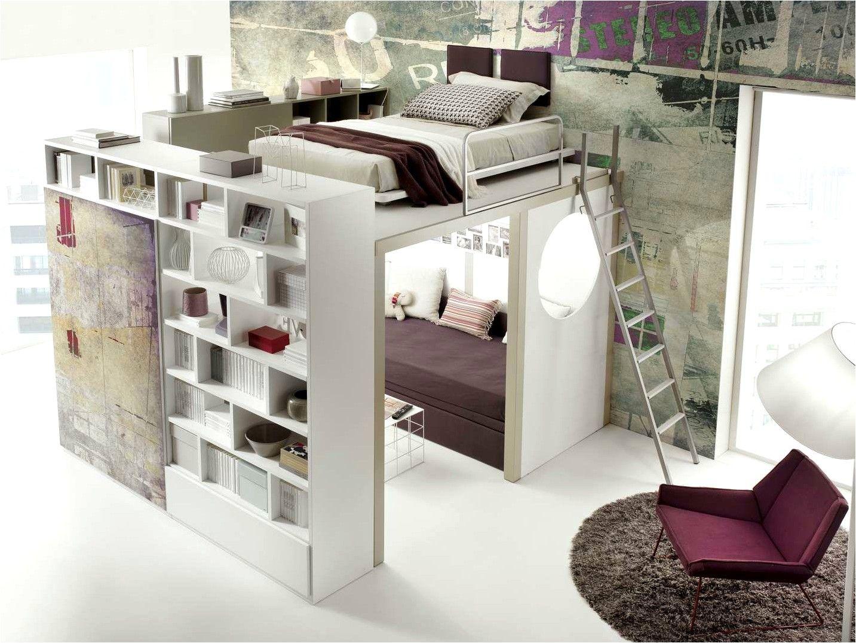 Deco Chambre Fille Ados Avec Lit Mezzanine   Deco chambre, Idée ...